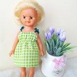 Кукла куколка Гдр Германия 19см