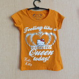 футболка Китти Hello Kitty рост 104-110 см на 3-5 лет