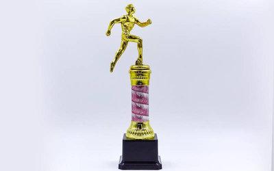 Награда спортивная приз спортивный Легкая атлетика C-C3580-5 пластик металл, высота 28см