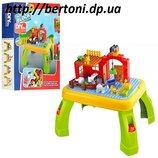 Столик с конструктором jixin Ферма арт. 3588A