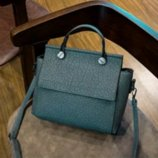 Стильная сумочка синего цвета, новая