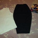 юбка черная летняя в стиле ретро..