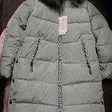 Женская зимняя куртка пальто.