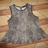 блузочка с баской лео