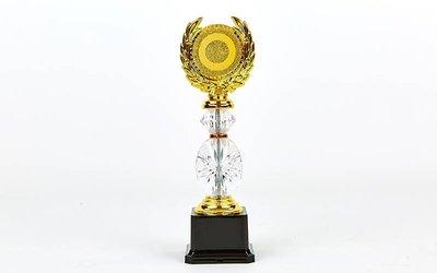 Награда спортивная приз спортивный YK-138, золото пластик, высота 26см