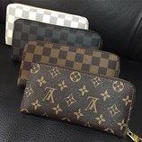 Стильный кожаный женский кошелек Louis Vuitton
