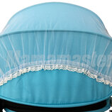 Дизайнерские москитные сетки на коляски