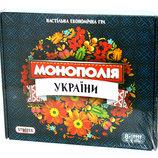 Настільна гра Strateg Монополія України ,арт. 7008