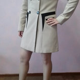 Пальто из турции кашемир с капюшоном