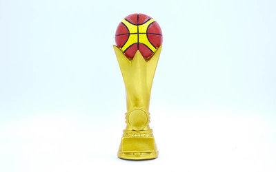 Награда спортивная Баскетбол статуэтка наградная баскетбольный мяч C-3209-B5 19х7х6см