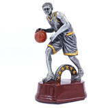 Награда спортивная Баскетбол статуэтка наградная C-1557 21х13х9см