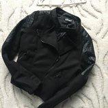 Косуха , куртка косуха , черная косуха Vert de Rage в идеале