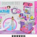 Набор доктор W087 складывается в чемодан 18 предметов стол врача