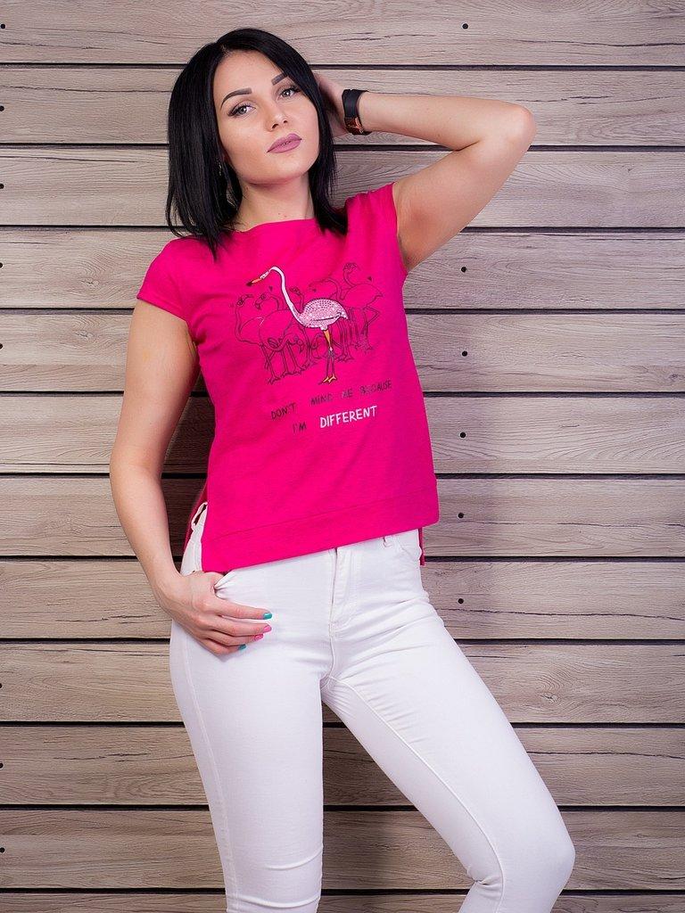Футболка С Фламинго Женская