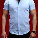 Мужские рубашки, последние размеры С, М, качество,цена снижена