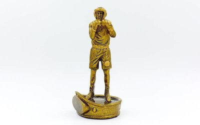 Награда спортивная Бокс статуэтка наградная боксер C-1727-B 17х8х8см