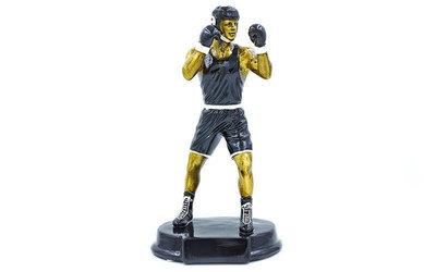 Награда спортивная Бокс статуэтка наградная боксер C-1761-A 27х15х11см