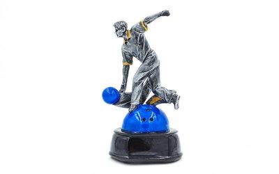 Награда спортивная Боулинг статуэтка наградная боулингист C-1987-C1 17х9х8см