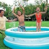 Надувной бассейн с прозрачными стенками INTEX 57489
