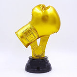 Награда спортивная Бокс статуэтка наградная боксерские перчатки C-1258-C5 21х14х8см