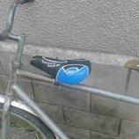 Велокресло, переднее детское сидение на велосипед с ровной мужской и рамой под небольшим углом