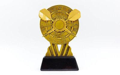 Награда спортивная Дартс статуэтка наградная C-1856-B 17,5х11х4см