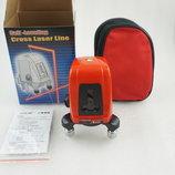 Лазерный уровень нивелир AK435 360 град.