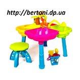 Песочный столик с набором, стульчиком, Kinderway, 01-121