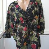 Блуза свободная, тонкий хлопок, Индия, Kappahl