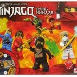 Игра настольная ходилка ниндзяго Ninjago укр 24320 маленькая