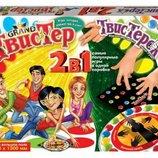 Игра напольная Твистер Гранд Твистерок 2 в 1 Данко тойс 18255