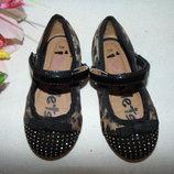 Гламурные балетки Matalan 24р,ст 15 см..Мега выбор обуви и одежды