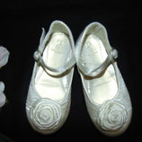 Нарядные балетки Mothercare 24 7 р,ст 15см.Мега выбор обуви и одежды