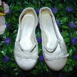 Атласные балетки Occasion 25 8 р,ст 16 см.Мега выбор обуви и одежды