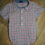 Рубашка человечек мальчику Gap