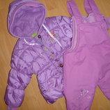 зимовий комбінзон куртка штани, на флісі 1-1,6-2р.