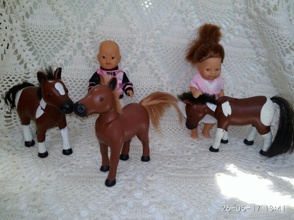 Лошадка для мини Беби Борна mini baby born Zapf creation: 75 грн - куклы, пупсы zapf creation в Полтаве, объявление №13448223 Клубок (ранее Клумба)