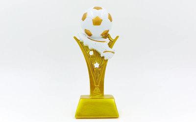 Награда спортивная Футбол статуэтка наградная бутса с мячем C-4736-B16 18х7х5см
