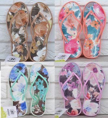 Шлепанцы TM Bona качественные женские вьетнамки на лето 4 цвета