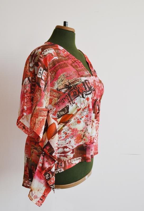 Блузка с высоким воротником с доставкой