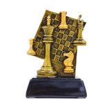 Награда спортивная Шахматы статуэтка наградная шахматная доска C-1627-B 13х9,5х4,5см