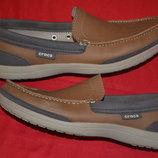 фирменные мужские туфли Crocs