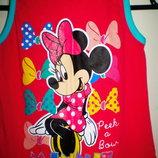 фірмове платтячко з Мінні Disney 122-128см.Нове.Сток
