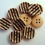 деревянные пуговички