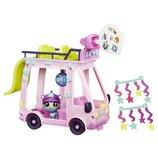 Littlest Pet Shop Автобус с котиком вечеринка LPS Shuttle