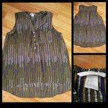 Фирменная шифоновая блузка H&M, размер 36 6