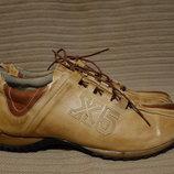 Эффектные комбинированные кожаные кроссовки Diesel X5 Италия. 44 р.