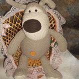 большая мягкая игрушка Собака Буфи Boofle Англия оригинал 45 см