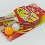 Набор для настольного тенниса Boli prince MT-9010 2 ракетки 2 мяча