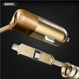 Авто зарядка Remax Finchy RC-C103 для Apple и Android
